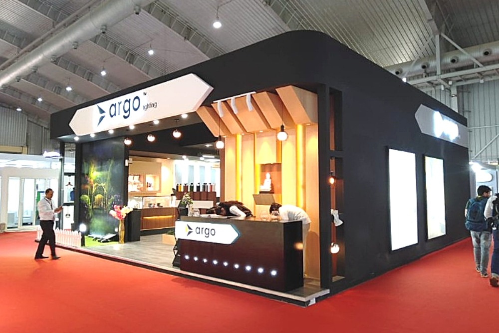 Exhibition Stall Design Ahmedabad : Spectracreatives exhibition stall design